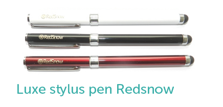 Luxe stylus pen redsnow