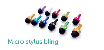 micro stylus bling